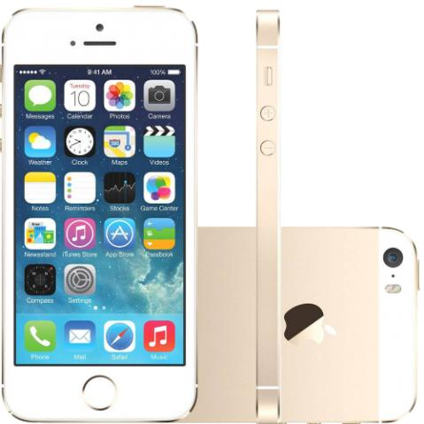 IPhone 5s 16GB Dourado