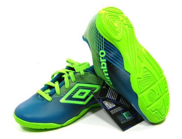 5111e11c1c Tenis Umbro Slice 3 Futsal vrd pto tam  28-35 - Esportes e ginástica ...