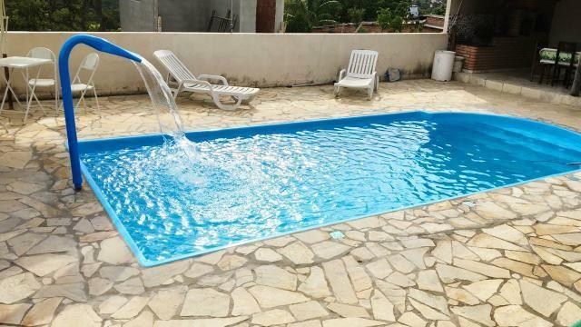 Casa com piscina em s.José de Almeida. 350 a diária do fim de semana comum - Foto 5