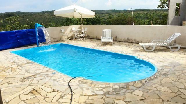 Casa com piscina em s.José de Almeida. 350 a diária do fim de semana comum - Foto 3