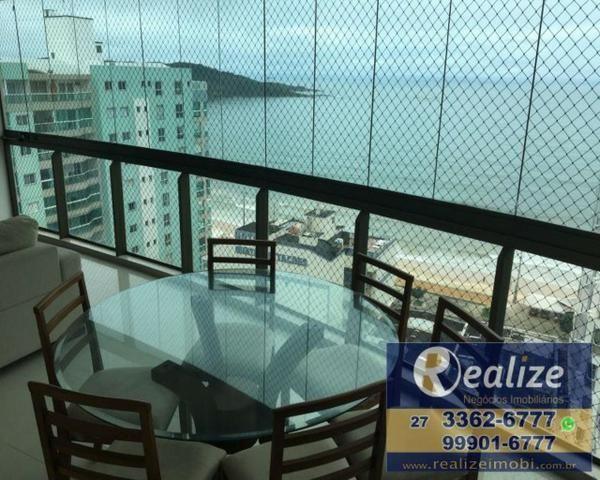 Apartamento 4 quartos, vista para o mar, mobiliado e parcelado em até 60x