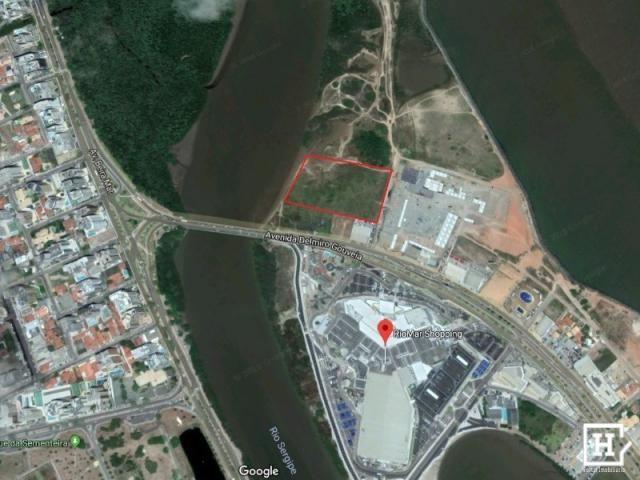 Terreno à venda em frente ao shopping riomar - 21.185 m²