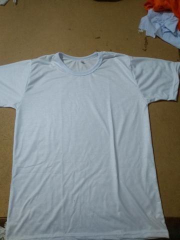 Vendo camisas 100% poliéster, para sublimação
