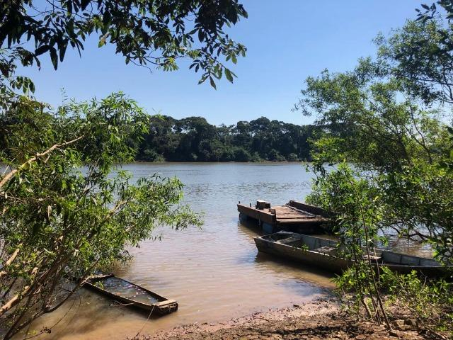 Chacara em Sto Antonio Leverger 110metros de Beira de Rio C/Tanque de Peixes Arvores Fruti - Foto 8
