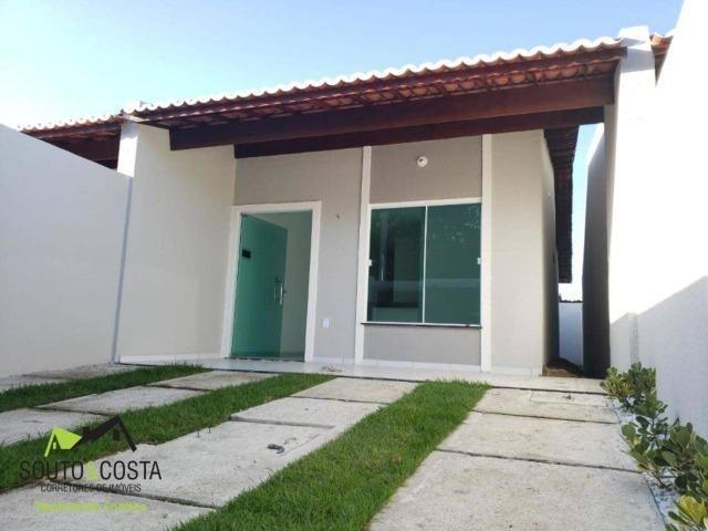 Casa com 2 quartos e acabamento de excelente qualidade.