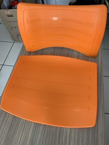 Kit assento e encosto polipropileno