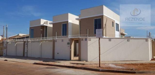 VENDA - Sobrado 2 suítes - 71 m² - R$ 210.000,00 - 604 Norte - Palmas/TO