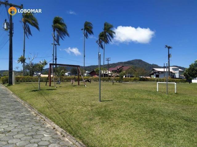 Terreno condominio fechado, 300 m² por r$ 145.000 - nossa senhora da paz - balneário piçar - Foto 7