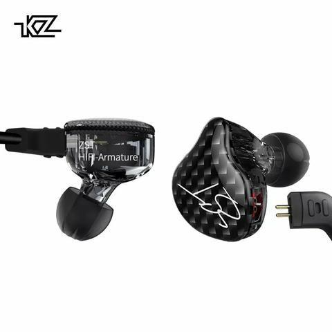 Fone Kz zst pro dual drive prof bass para retorno de palco grave pesado - Foto 2