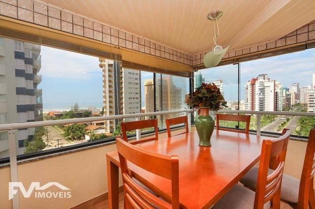 Apartamento com vista para o mar de Torres RS, nas quatros praças. - Foto 12
