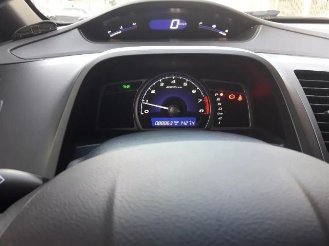 Honda Civic 1.8 Lxs Flex Aut. 4p - Foto 5