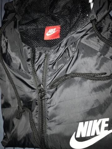 Jaqueta Nike Corta Vento Preta - Foto 5