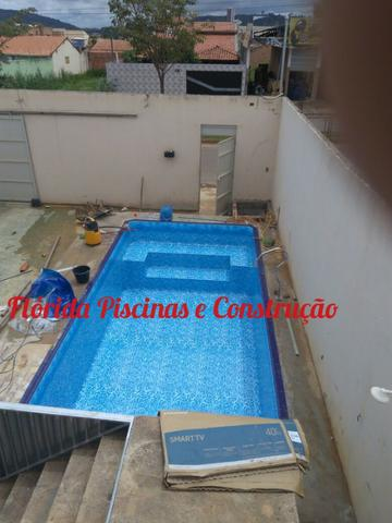 Piscina - Construímos a sua Piscina de Vinil e Azulejo - Foto 4