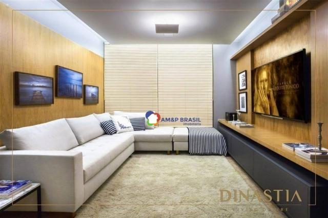 Apartamento com 4 dormitórios à venda, 326 m² por r$ 2.190.000,00 - setor marista - goiâni - Foto 3