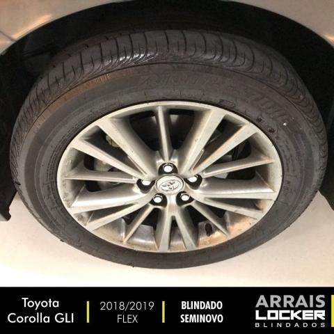 Toyota corolla 2018/2019 1.8 gli upper 16v flex BLINDADO - Foto 8
