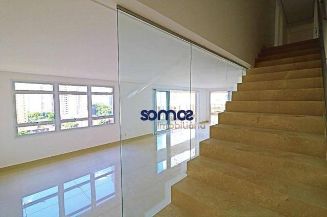 Apartamento duplex com 4 dormitórios à venda, 288 m² por r$ 2.080.000,00 - setor bueno - g - Foto 11