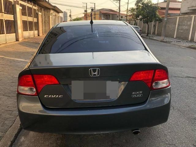 Honda Civic 1.8 Lxs Flex 4p - Foto 5