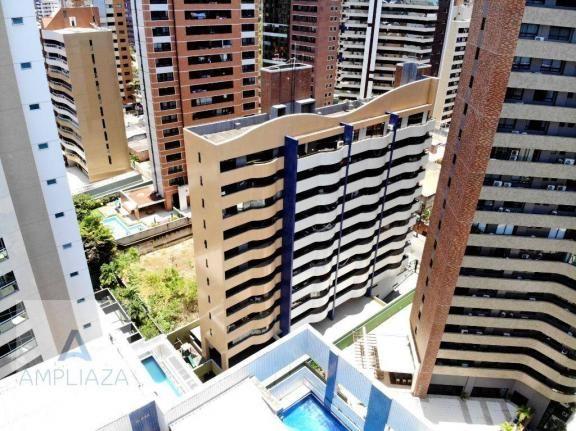 Cobertura com 3 dormitórios à venda, 120 m² por r$ 850.000 - meireles - fortaleza/ce