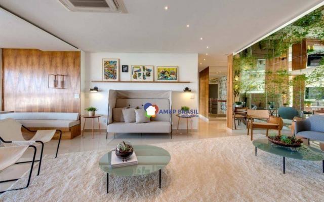 Apartamento com 3 dormitórios à venda, 178 m² por r$ 1.115.500,00 - setor marista - goiâni - Foto 4