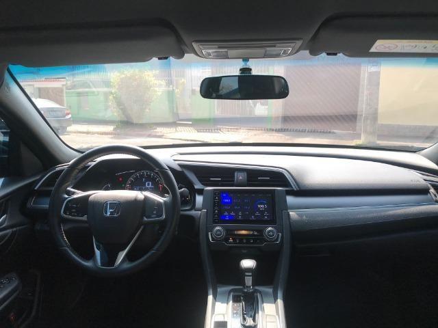 Honda Civic sport 2.0 flex com gnv 5.geração automático cvt completo 2018 - Foto 10