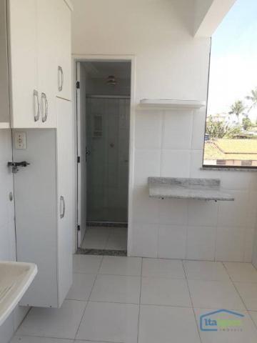 Cobertura com 4 dormitórios para alugar, 200 m²- pitangueiras - lauro de freitas/ba - Foto 19