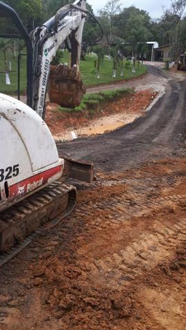 Mini retro escavadeira BOBCAT 325 - Foto 3