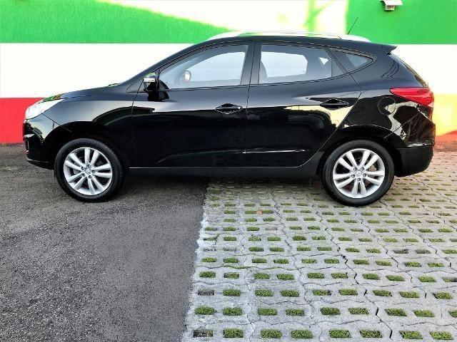 Hyundai IX35 Botão Start, Automática, Top + Kit GNV Última Geração, Baixa km. Lindo Carro! - Foto 6