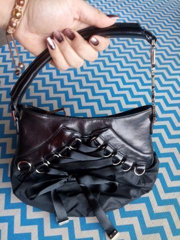 36aa30d7def Bolsa Christian Dior Cetim Lace-up - Bolsas