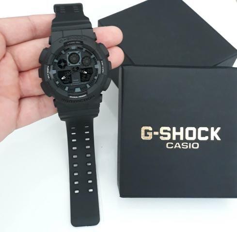 8a9c82d9f93 Relógio G Shock Casio Todo Preto - Bijouterias