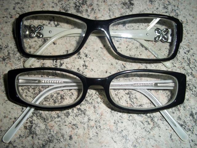 fe4533a6993ee Barbada 2 Armações para Óculos em ótimo estado- - Bijouterias ...