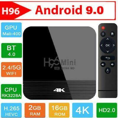 TV box h96 mini