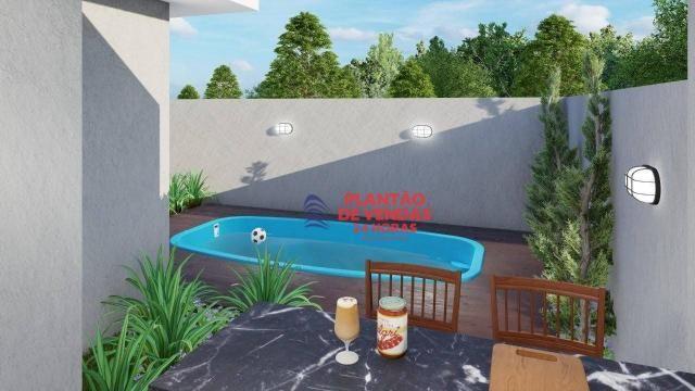 Ótimas casas lineares 3 quartos (opção de piscina e deck) - Enseada das Gaivotas - Rio das - Foto 9