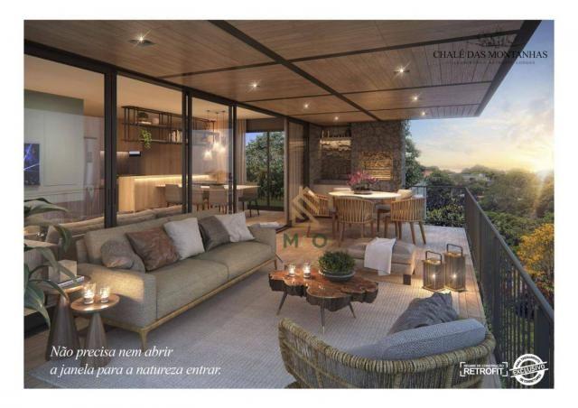 Loft com 3 dormitórios à venda, 138 m² por R$ 1.550.00 - Macapá - Guaramiranga/CE - Foto 3