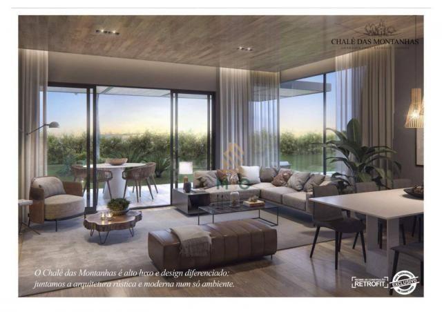 Loft com 3 dormitórios à venda, 138 m² por R$ 1.550.00 - Macapá - Guaramiranga/CE - Foto 4