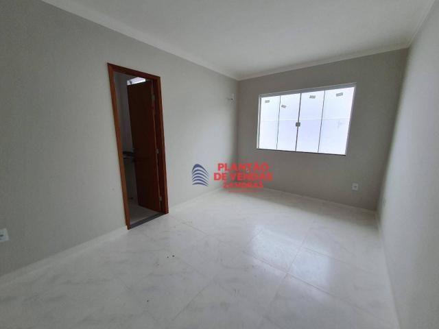 Ótimas casas lineares 3 quartos (opção de piscina e deck) - Enseada das Gaivotas - Rio das - Foto 13