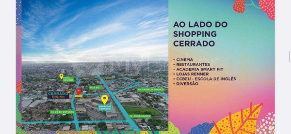 Apartamento com 3 quartos no Cerrado Family Home - Bairro Aeroviário em Goiânia - Foto 6