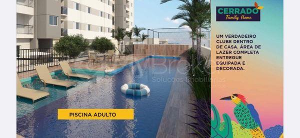 Apartamento com 3 quartos no Cerrado Family Home - Bairro Aeroviário em Goiânia - Foto 3