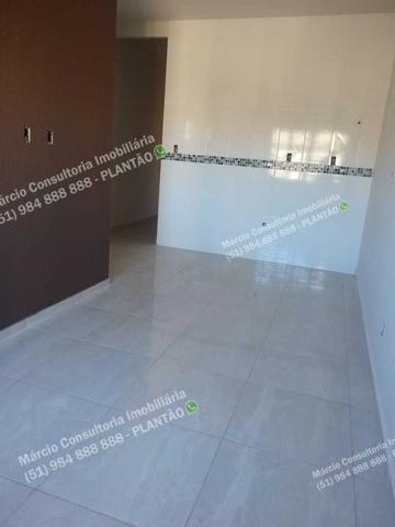 Excelentes Casas 2 Dormitórios 2 Vaga Gravataí Bom Sucesso Documentação Gratuita!! - Foto 4