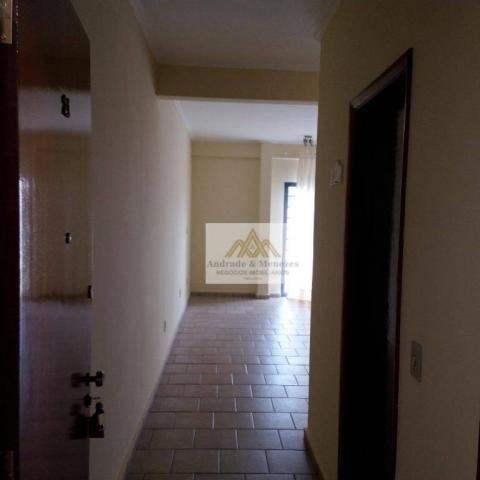 Apartamento com 3 dormitórios para alugar, 89 m² por R$ 1.050/mês - Vila Tibério - Ribeirã - Foto 2