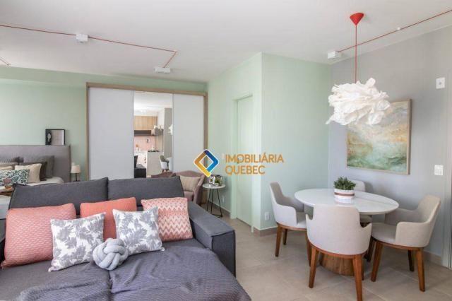 Apartamento com 1 dormitório para alugar, 41 m² por r$ 2.000/mês - ribeirânia - ribeirão p - Foto 2
