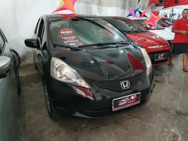 Honda Fit 2012 1 mil de entrada Aércio Veículos cda
