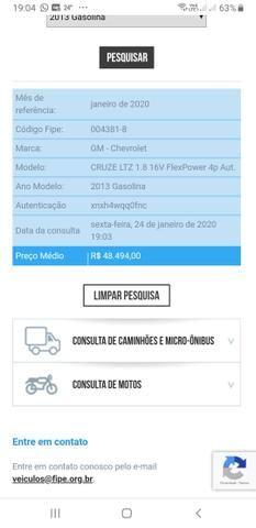 Cruze ltz 1.8 16v flex power 4p aut COM APENAS 87500 MIL KM - Foto 9
