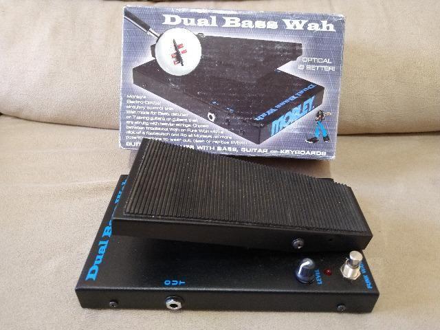 Morley PBA-2 Dual Bass Wah (seminovo) + fonte (nova) - Foto 2