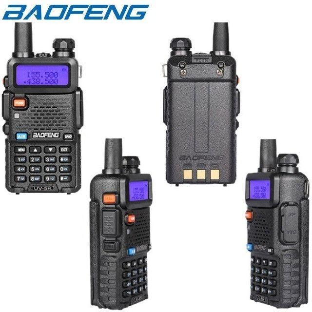 Rádio Ht Dual Band Uhf + Vhf Baofeng Uv-5r Rádio - Foto 4