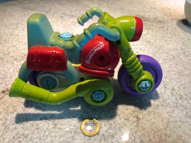 Brinquedo. Motocicleta desmonte Educação Crianças ?Raro?