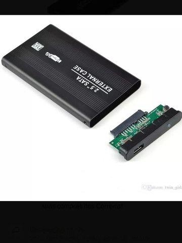 Case para HD de Notebook Gaveta de HD em Aluminio USB 3.0 - Loja Natan Abreu - Foto 2