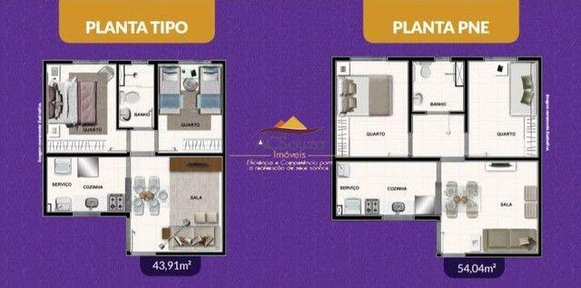 Cód. 067 Apartamento na planta com 2 quartos bairro Felixlândia (Justinopólis)