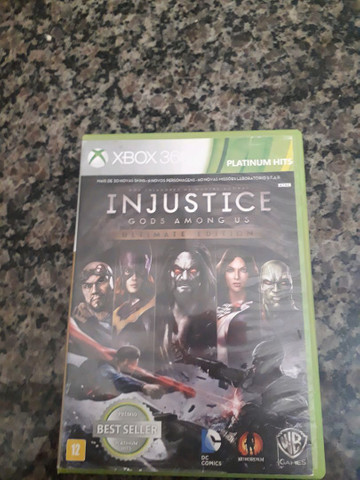 Jogo De Xbox 360 Injustice Gods Among Us Videogames Nova Angra Cunhambebe Angra Dos Reis 814501545 Olx