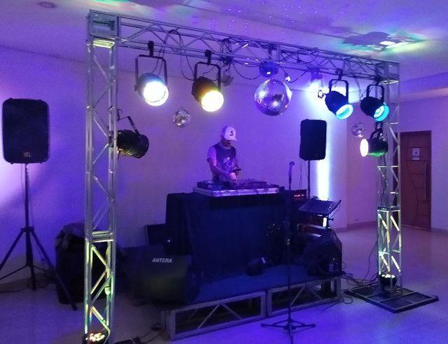 Som palco e iluminação. - Foto 2