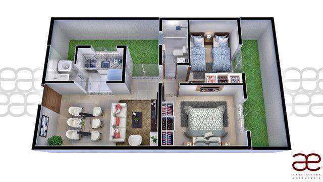 Apto A219 Bairro Cidade Verde, 2 quartos. Registro e Itbi grátis. 49 m², Valor 120 mil - Foto 9